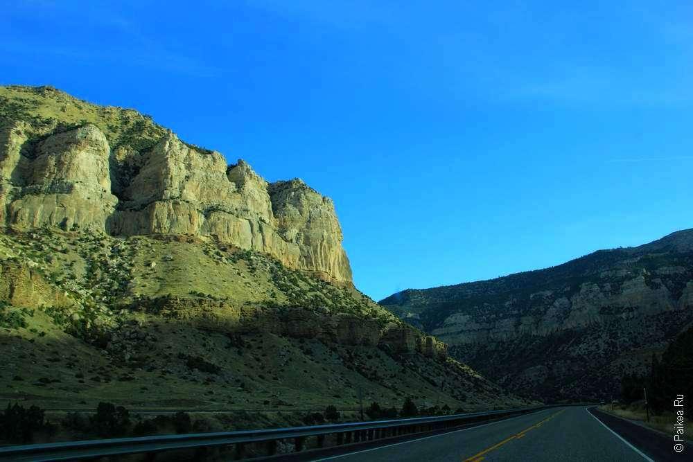 Стенка каньона