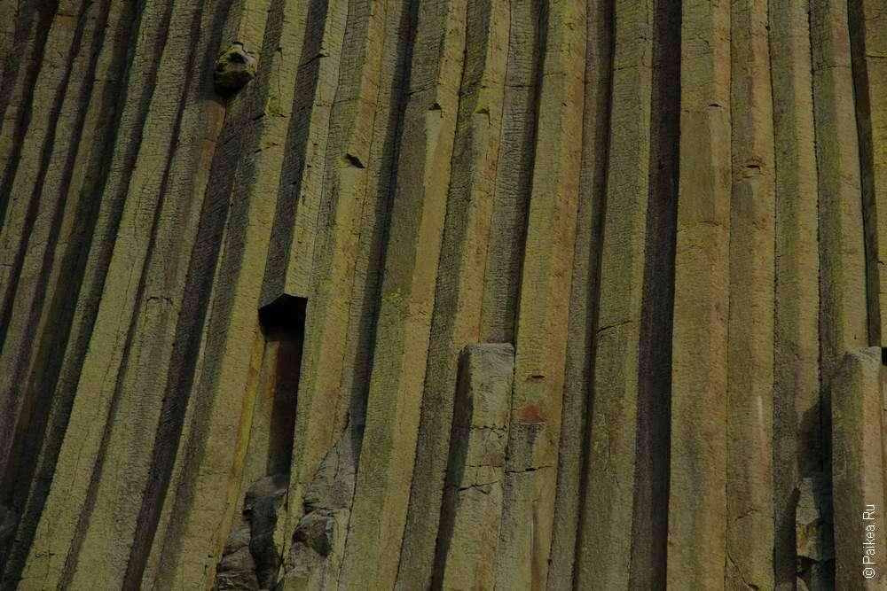 Девилз-Тауэр - гора вулканического происхождения