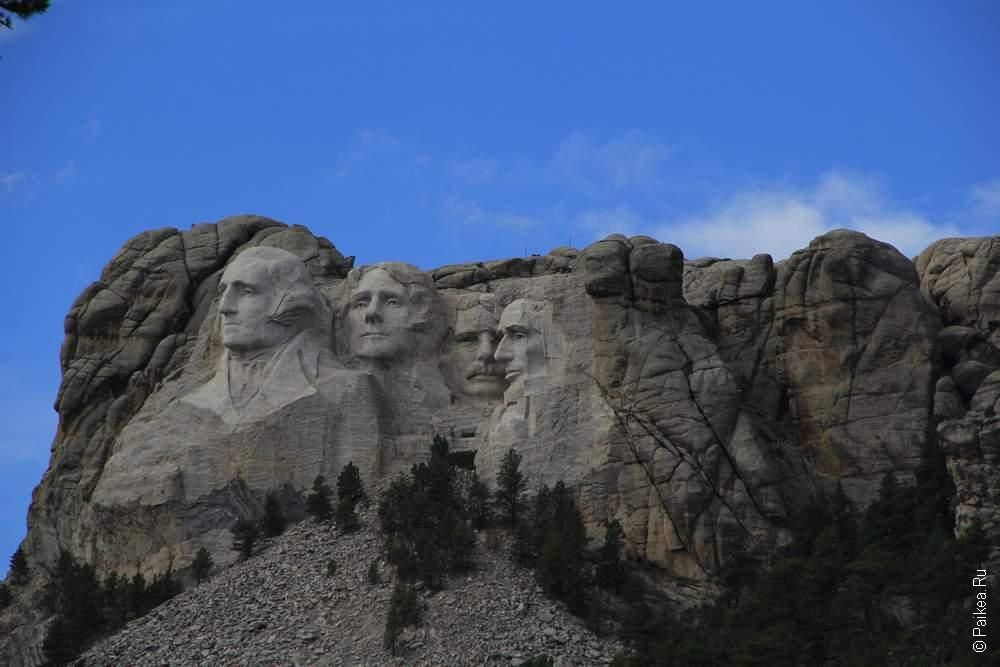 Блэкхиллс, Гора Рашмор, США (Blackhills, Mt Rushmore, USA)