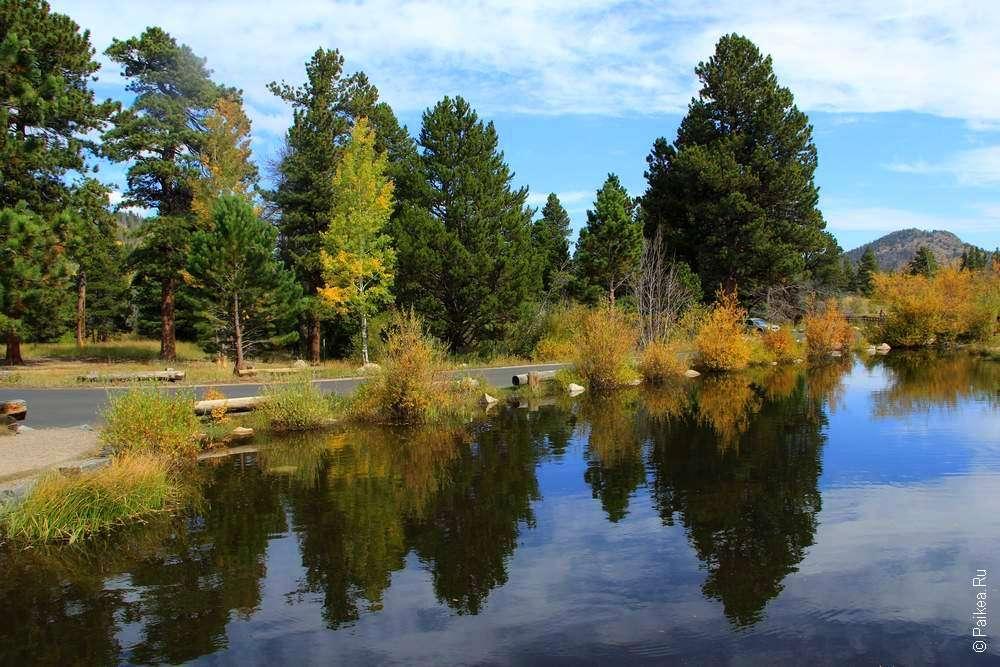 озеро спрейг (Sprague lake)