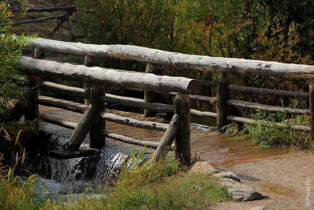 плотина на озере спрейг