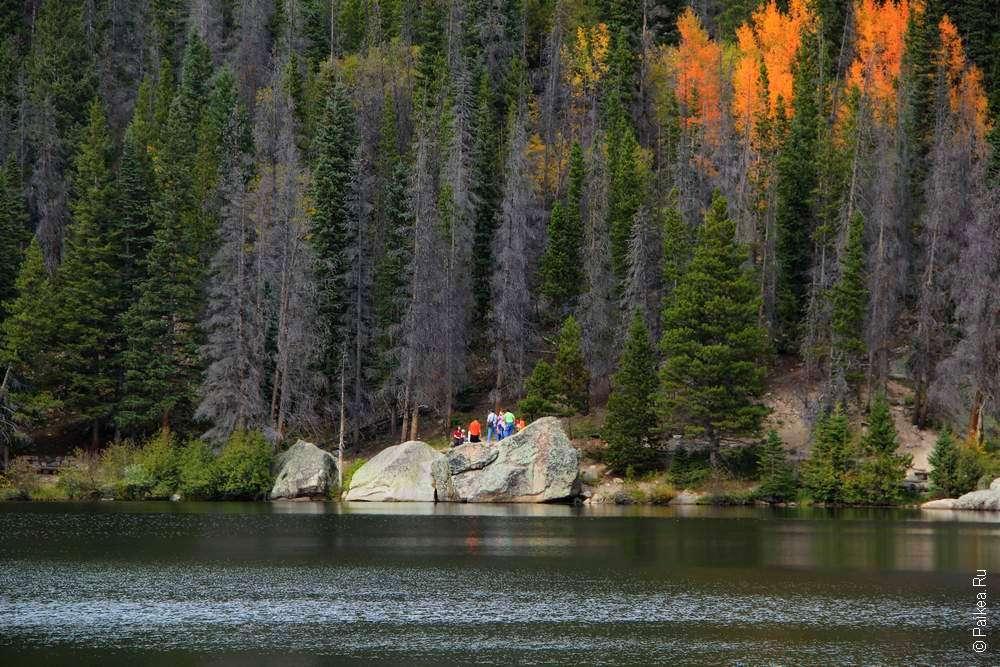 Прогулка вокруг озера