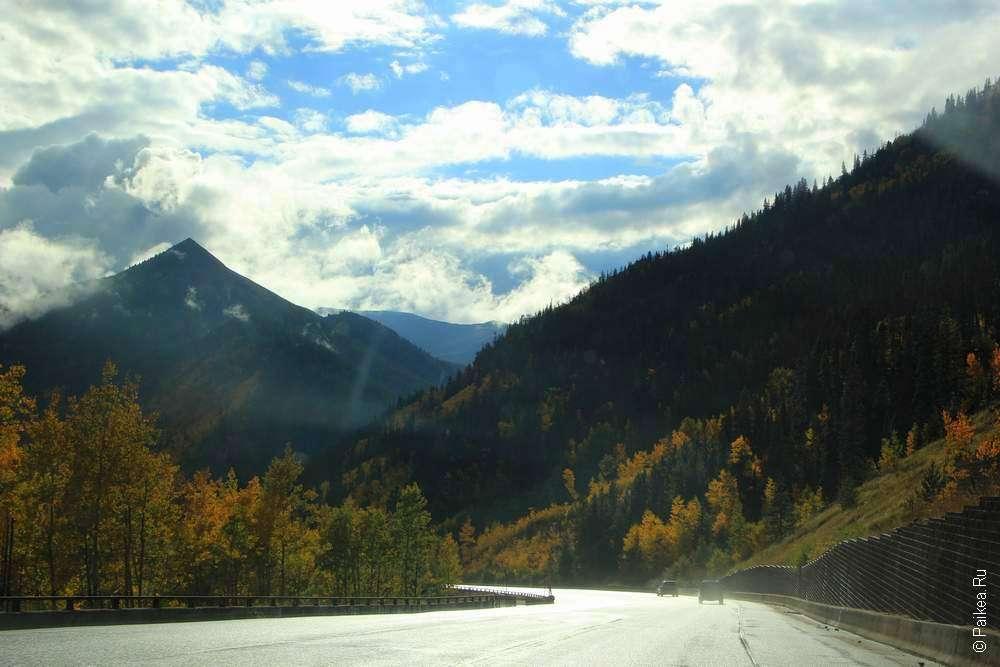 вершина скалистых гор