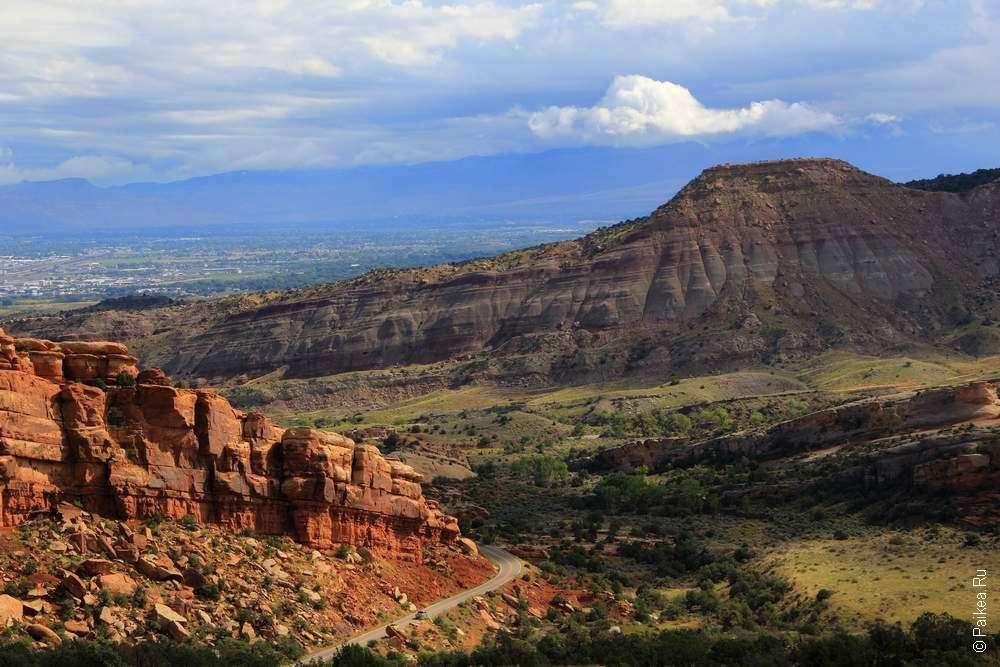 Долина в Колорадо