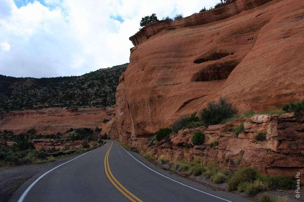 Живописная дорога в Колорадо