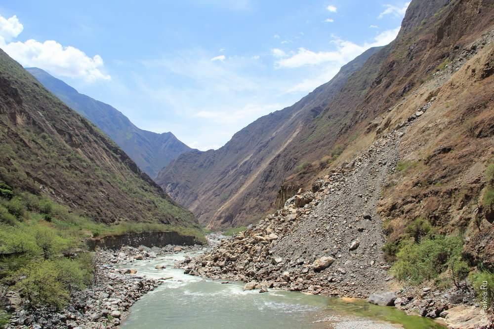 На дне каньона