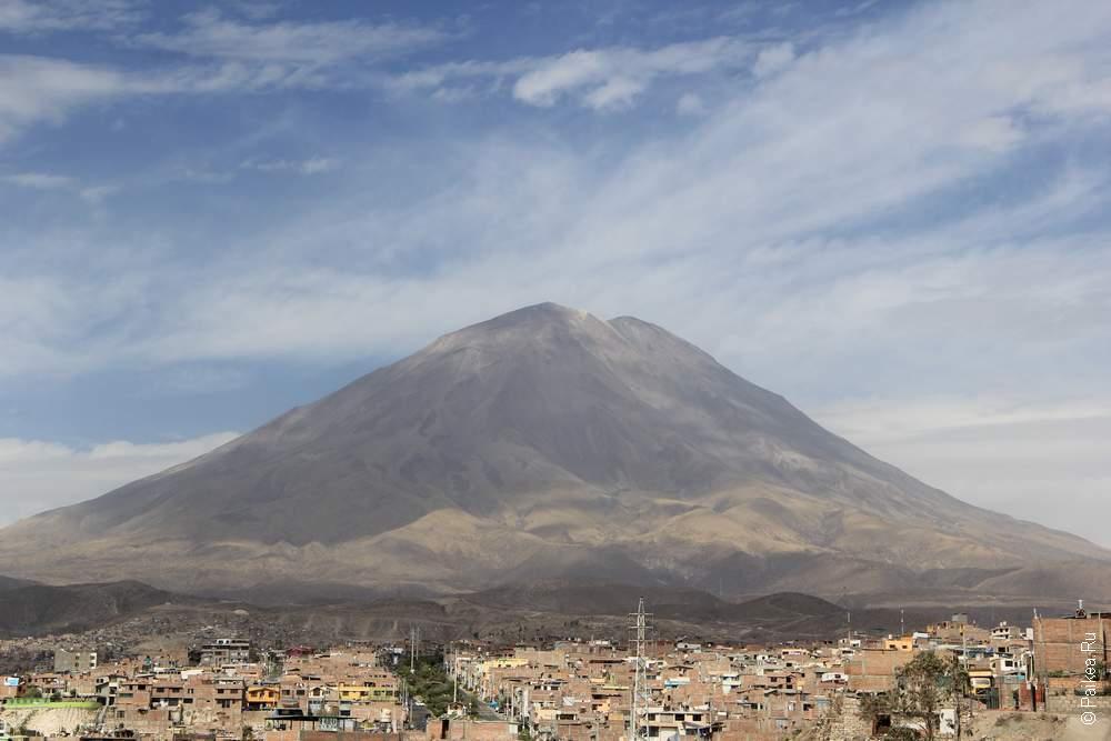 Вулкан рядом с Арекипой