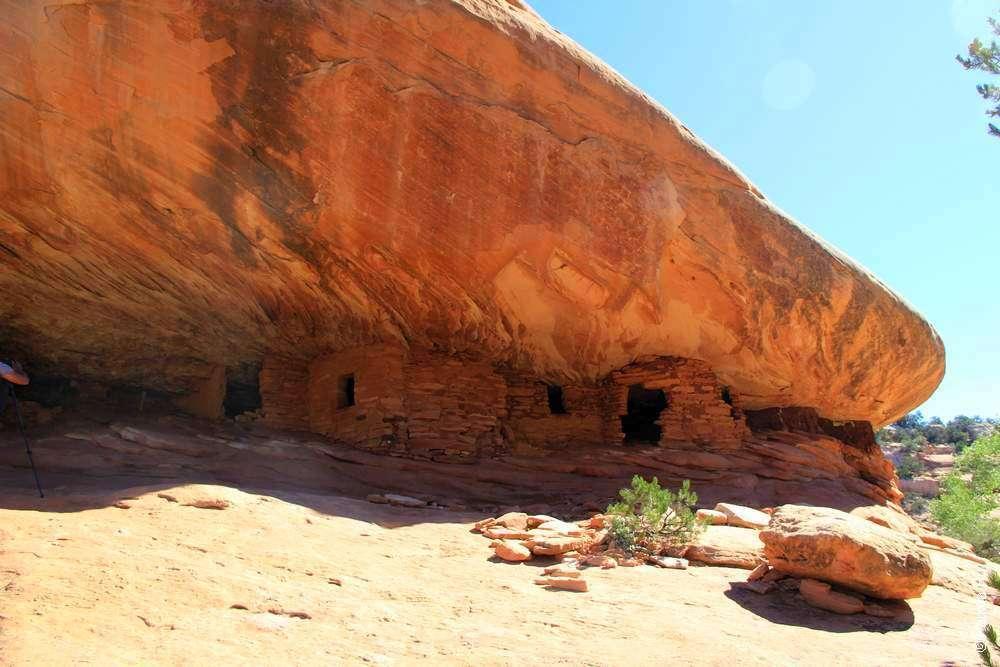 Домики индейцев анасази