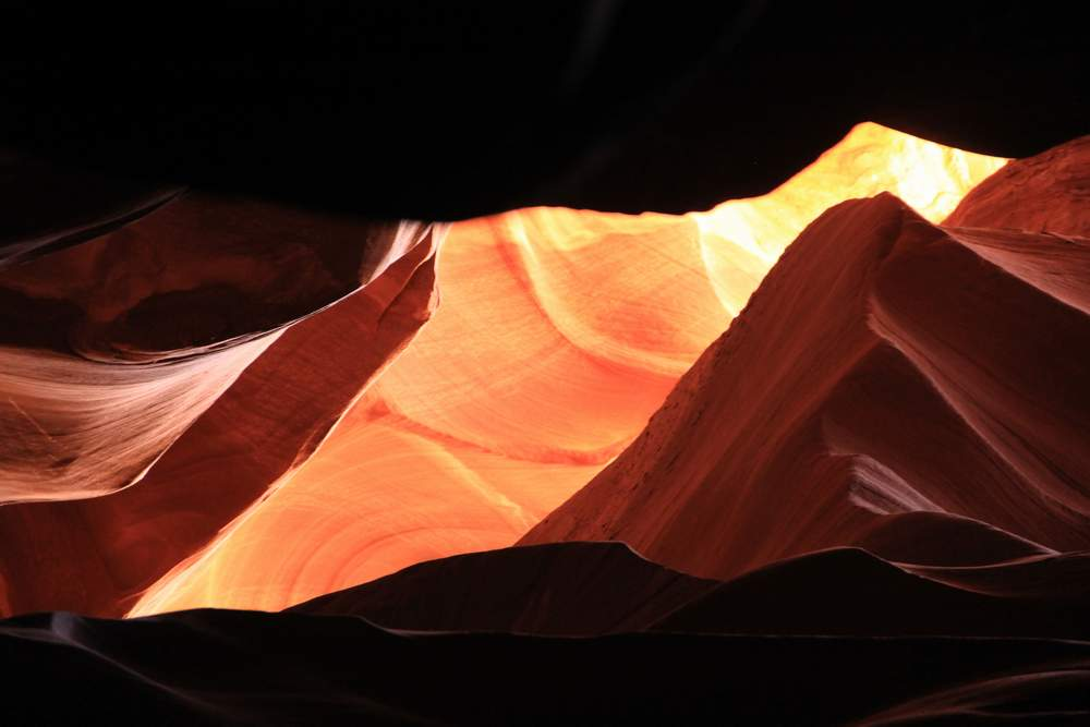Каньон Антилопы, США (Antelope canyon, USA)