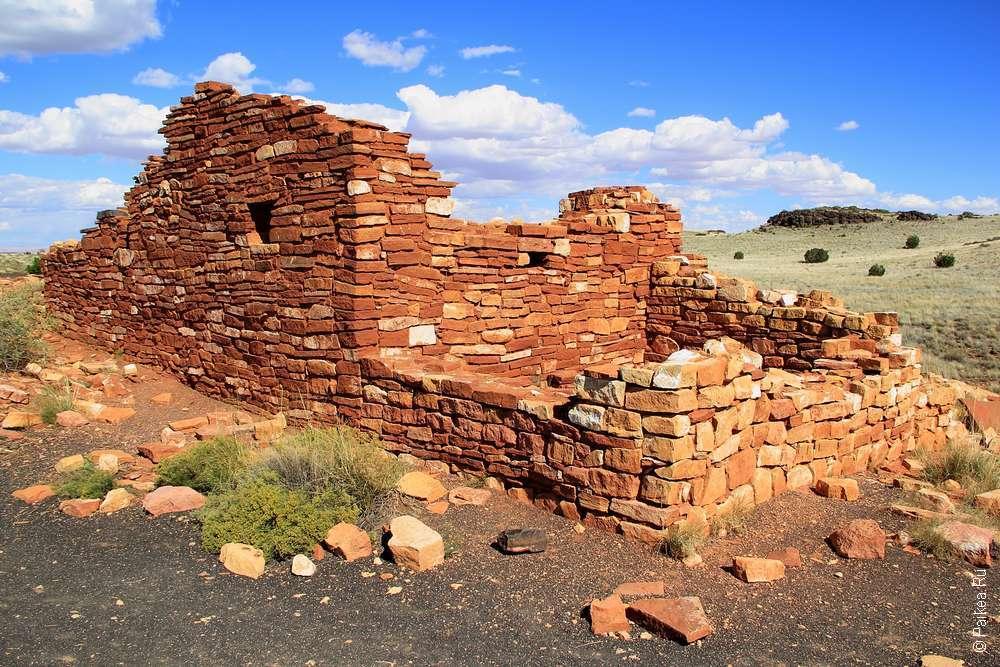 Руины индейцев Аризона США
