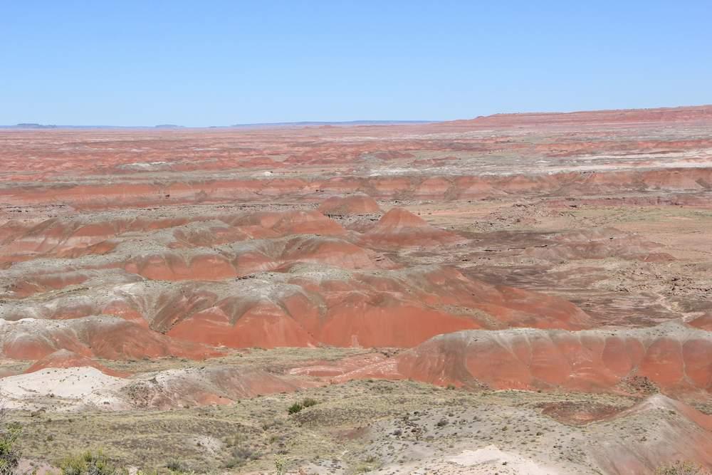Цветная пустыня, США (Painted desert, USA)