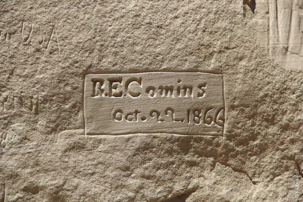 Эль Морро, Нью-Мексико, США (El Morro, New-Mexico, USA)