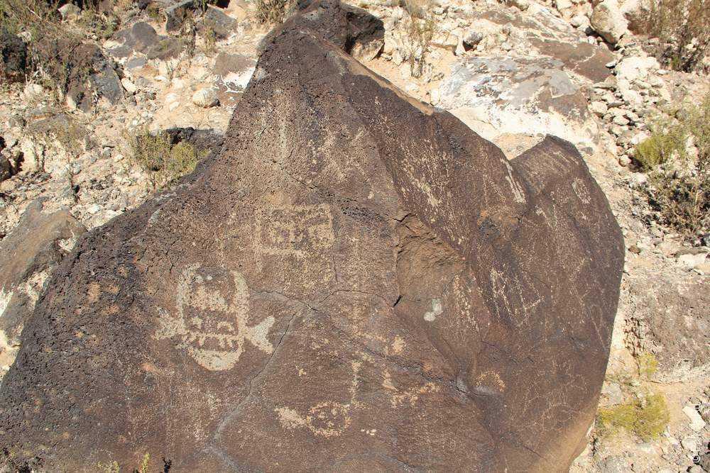 Петроглиф, США (Petroglyph, USA)