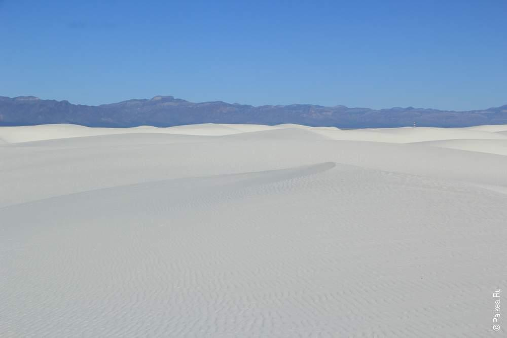 Уайт сэндс, Нью-Мексико, США (White sands, NM, USA)