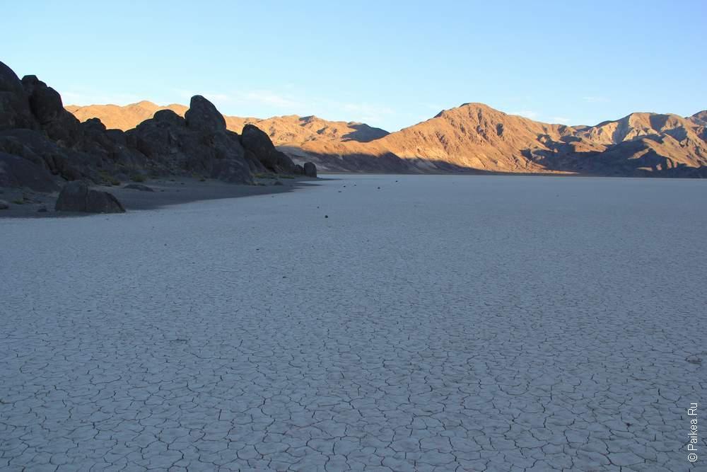 Рейстрек, Долина Смерти, США (Racqtrack, Death Valley, USA)