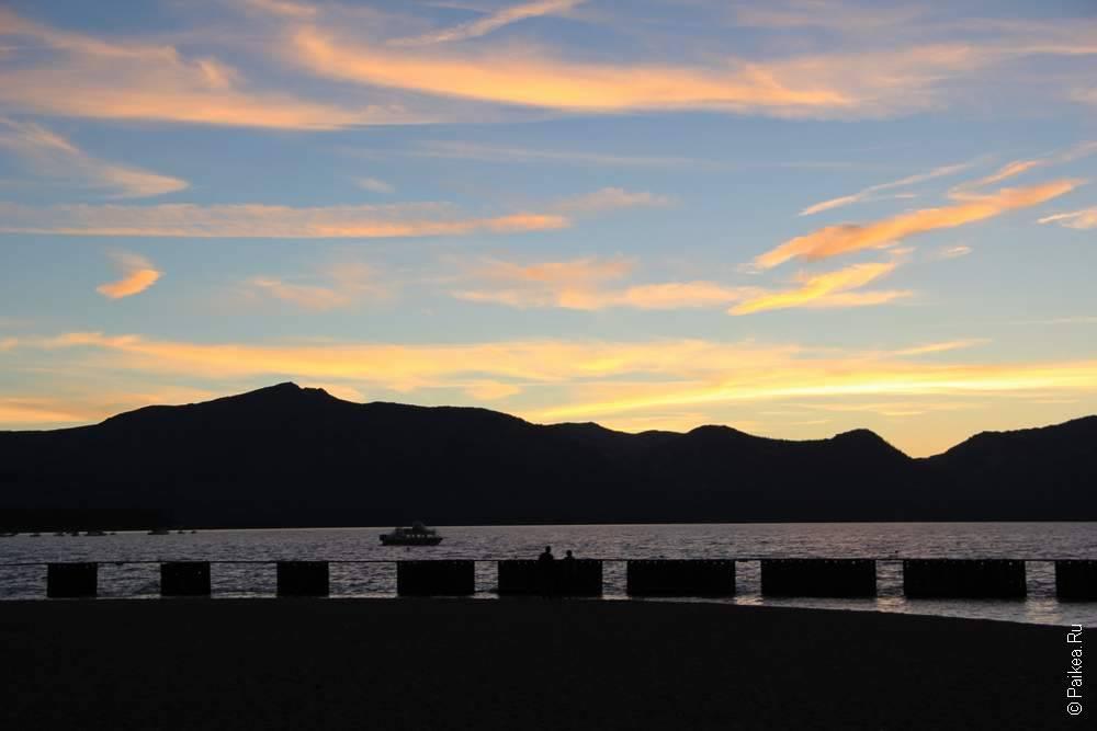 Озеро Тахо Калифорния США