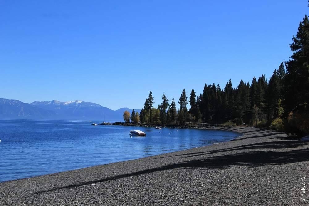 берег озера тахо