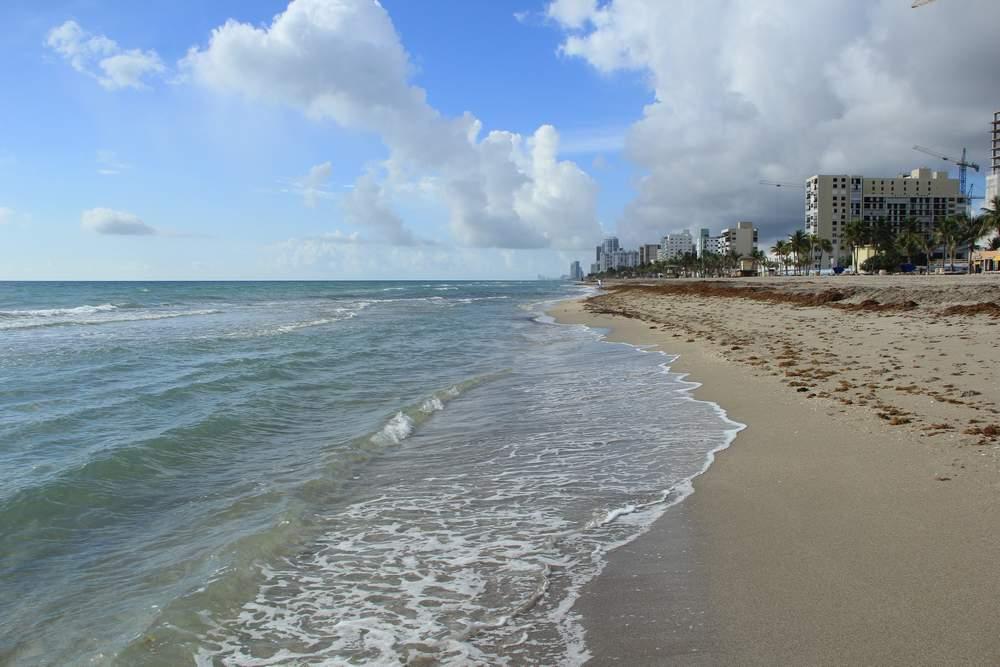 Форт Лодердейл, пляж Голливуд, США (Forf Lauderdale, Hollywood beach, USA)