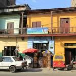 Окраины Лимы в Перу