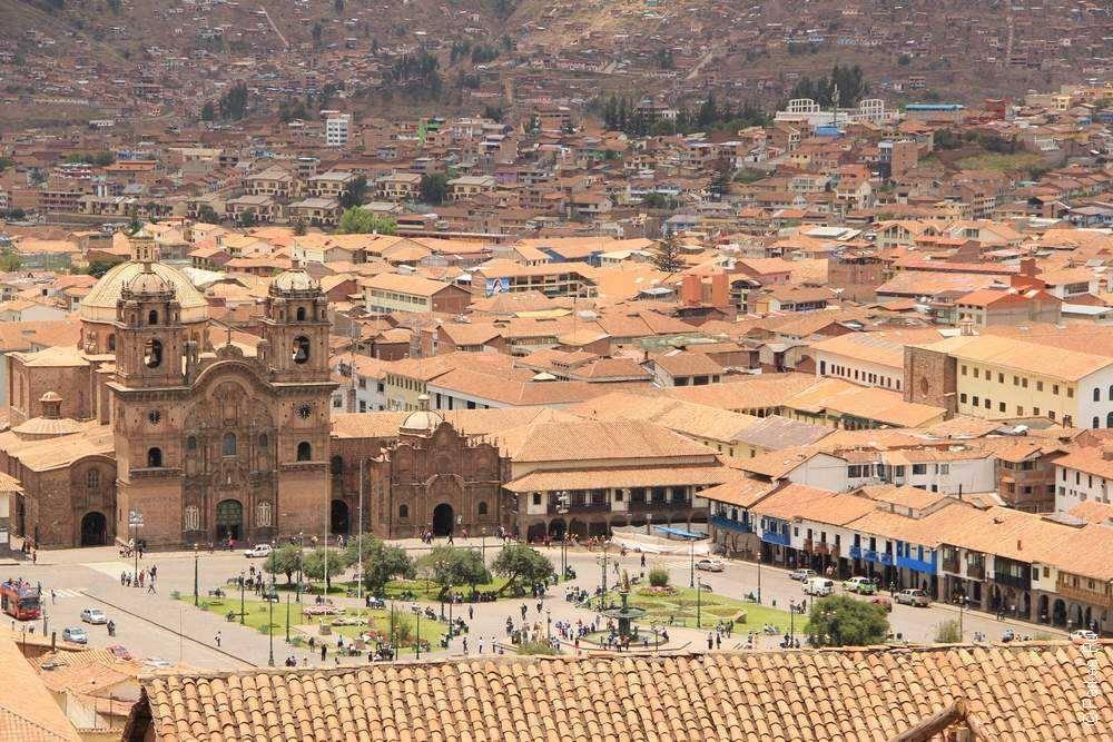 город Куско панорамный вид