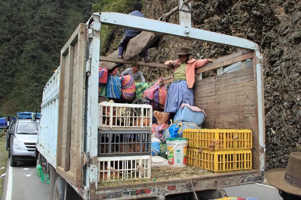 Грузовик в Перу