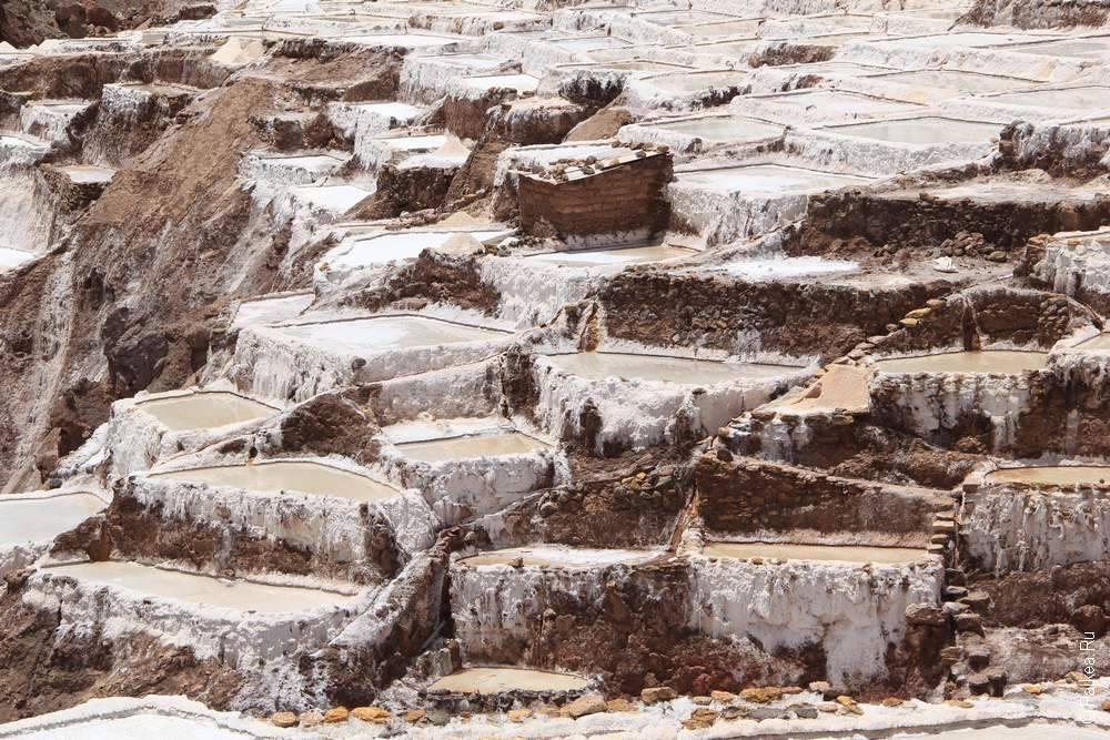 Салинерас в Священной долине инков