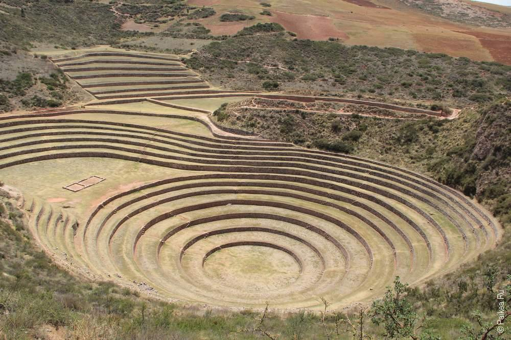 Морай в Перу