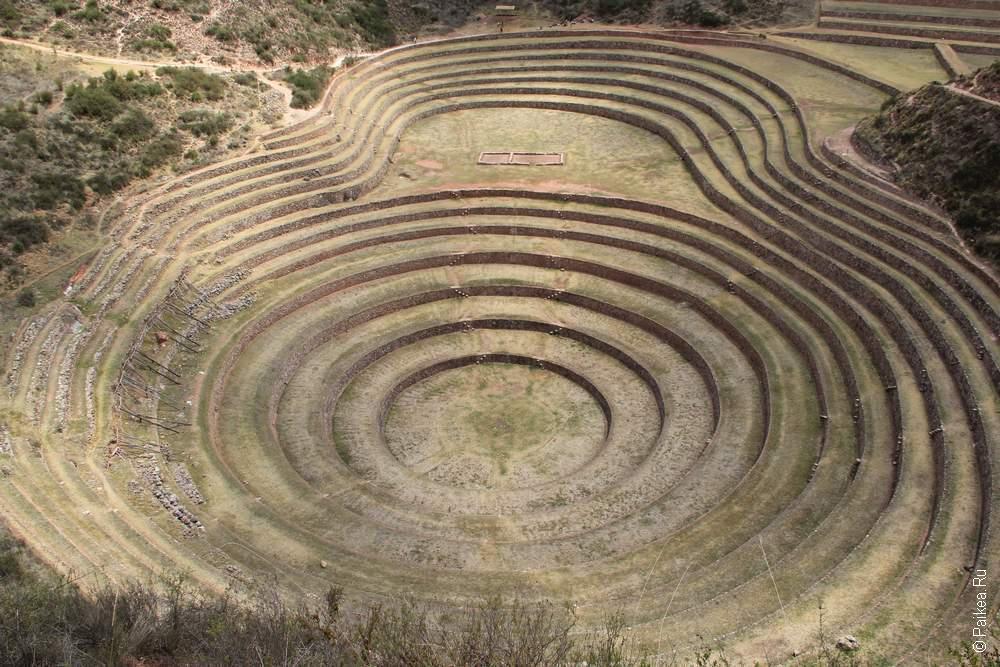 Морай, Перу (Moray, Peru)