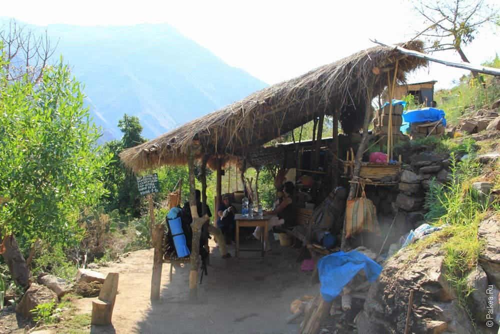 Уютная кухня-беседка гостеприимной бабушки в Санта-Розе