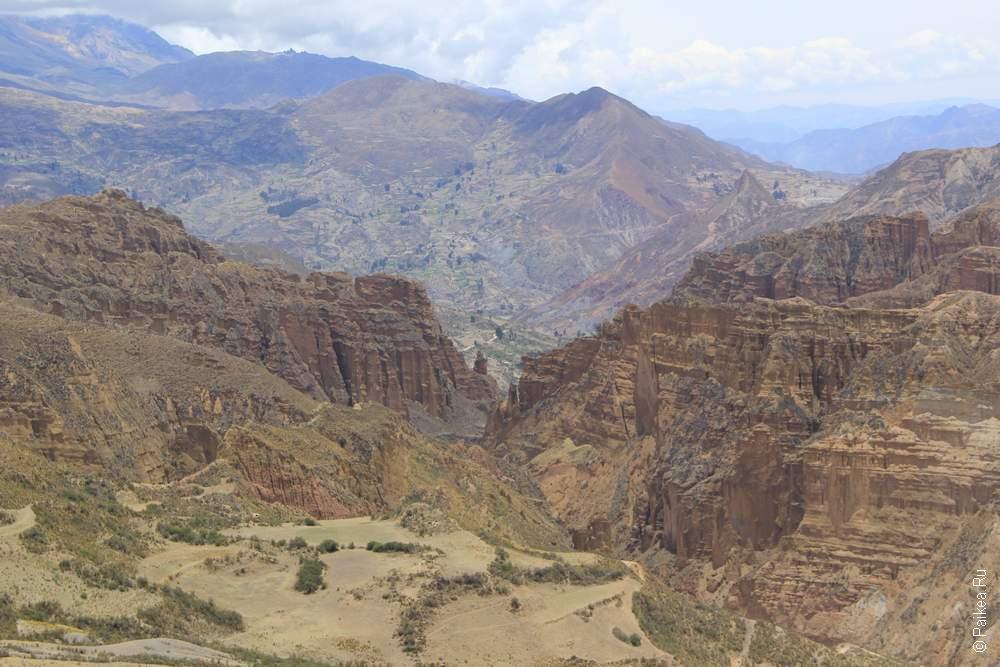 Долина духов, Ла-Пас, Боливия (Valle de las animas, La Paz, Bolivia)