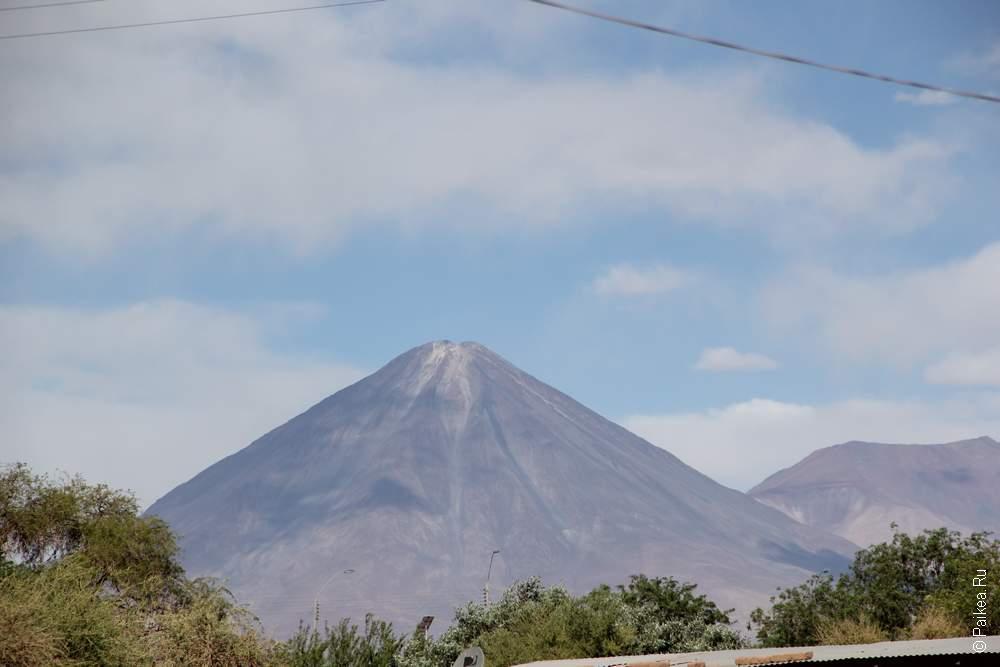 Мой любимый вулкан Ликанбур