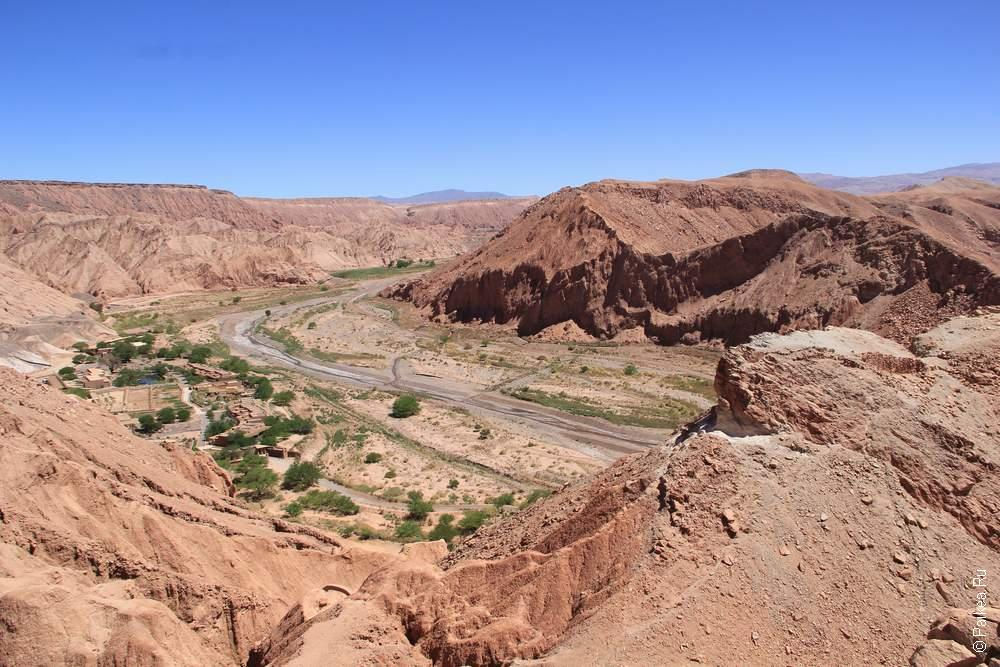 Пукара де Китор, Чили (Pukara de Quitor, Chile)