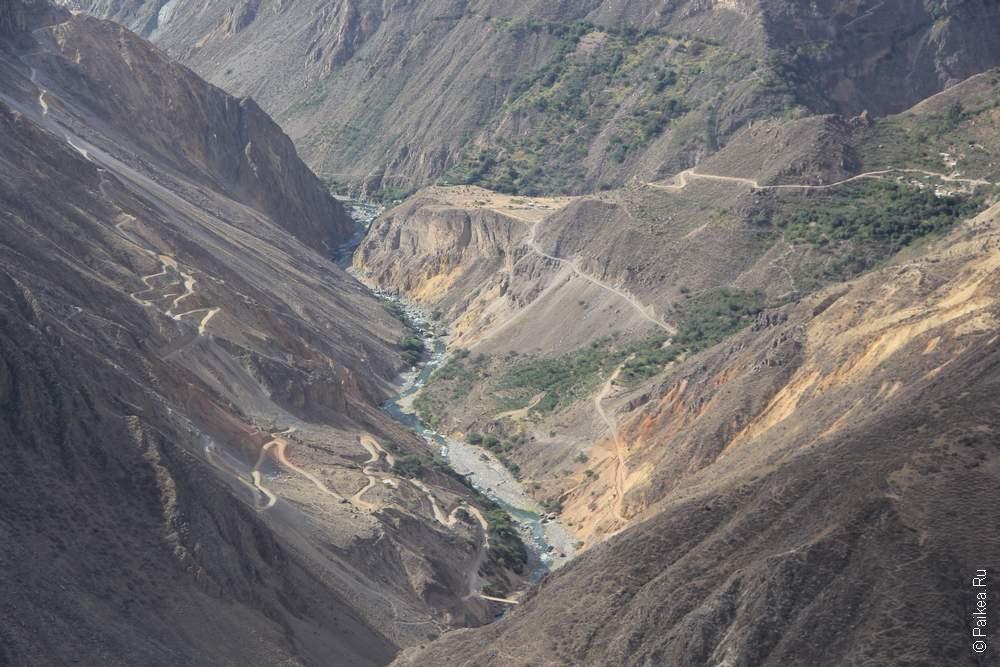 Достопримечательности Перу Каньон Колка