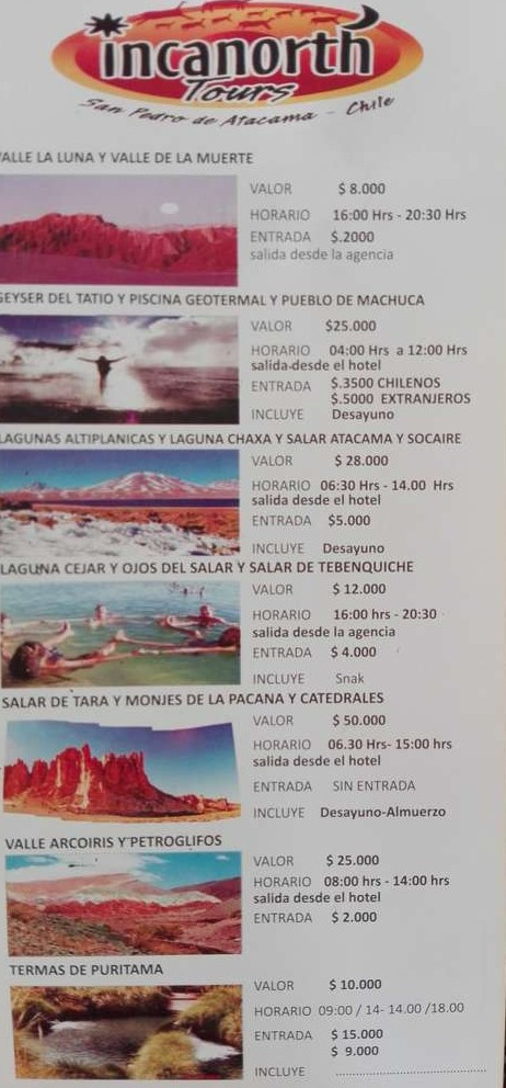 Туры из Сан-Педро-де-Атакамы