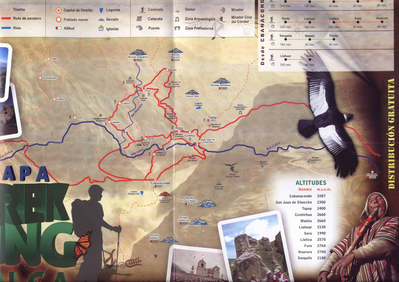 Карта каньона Колка
