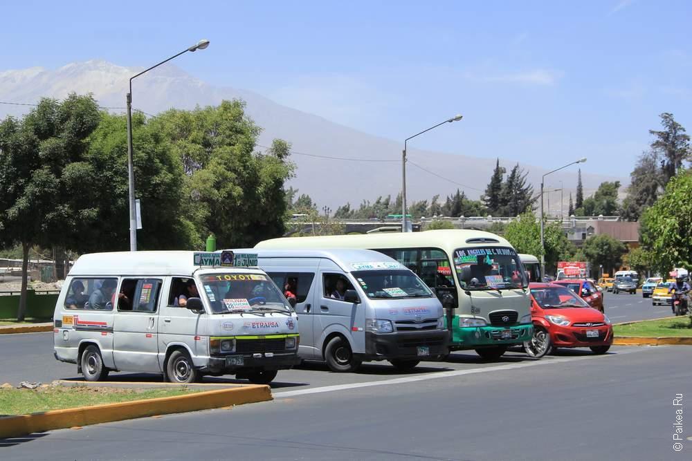 Разные локальные автобусы