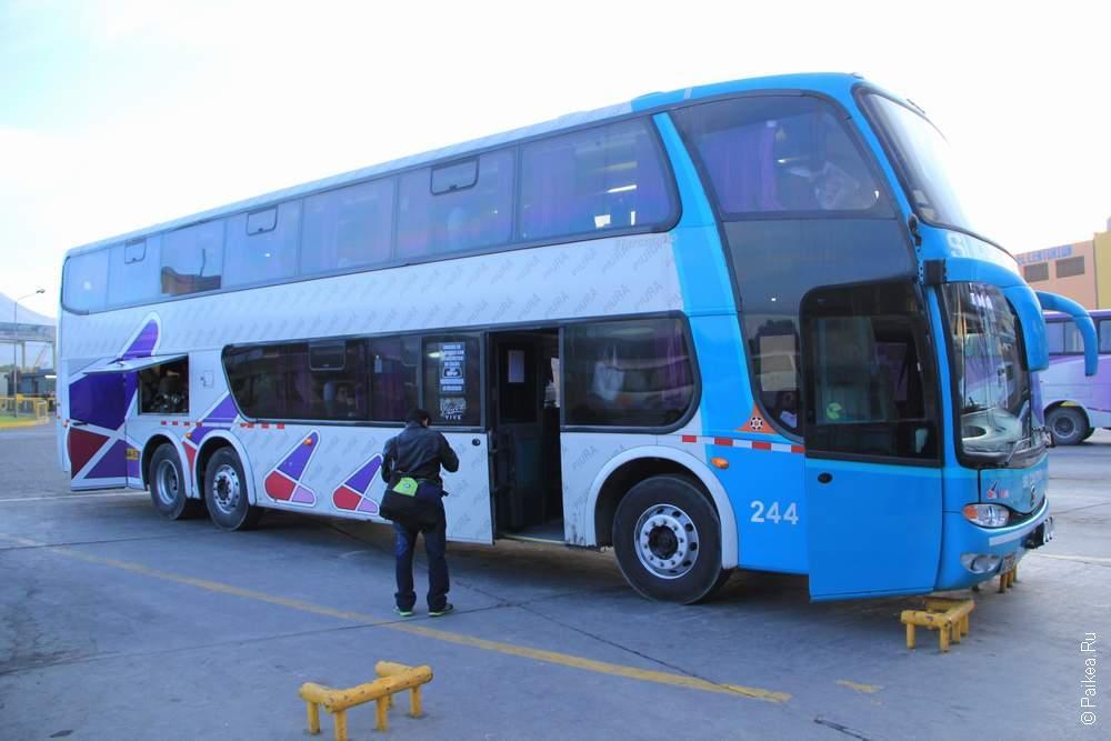 Автобус компании Civa