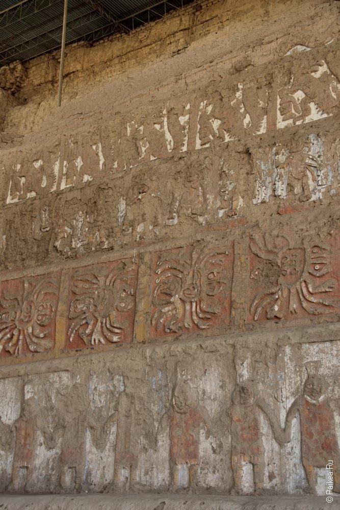Внешний фасад пирамиды