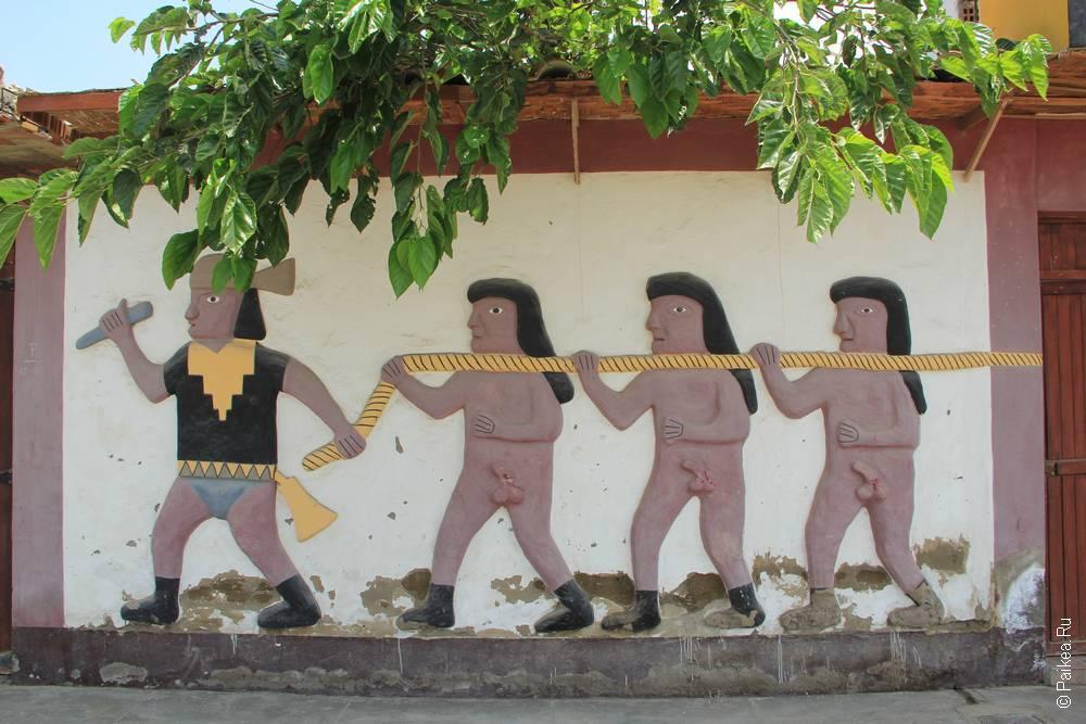Ожившие рисунки пирамиды
