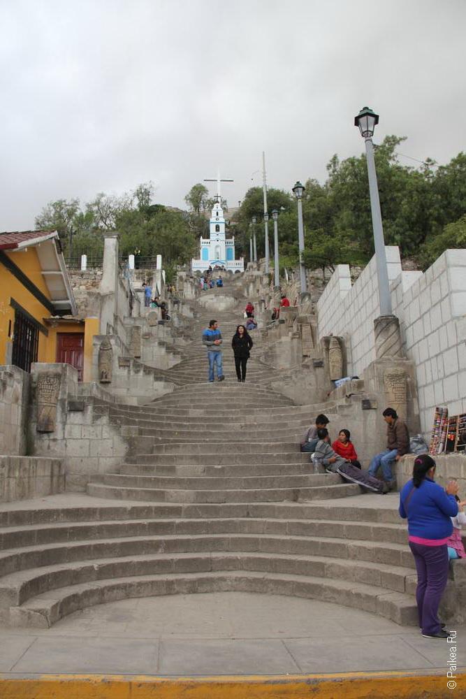 Лестница к церкви Санта Аполонии