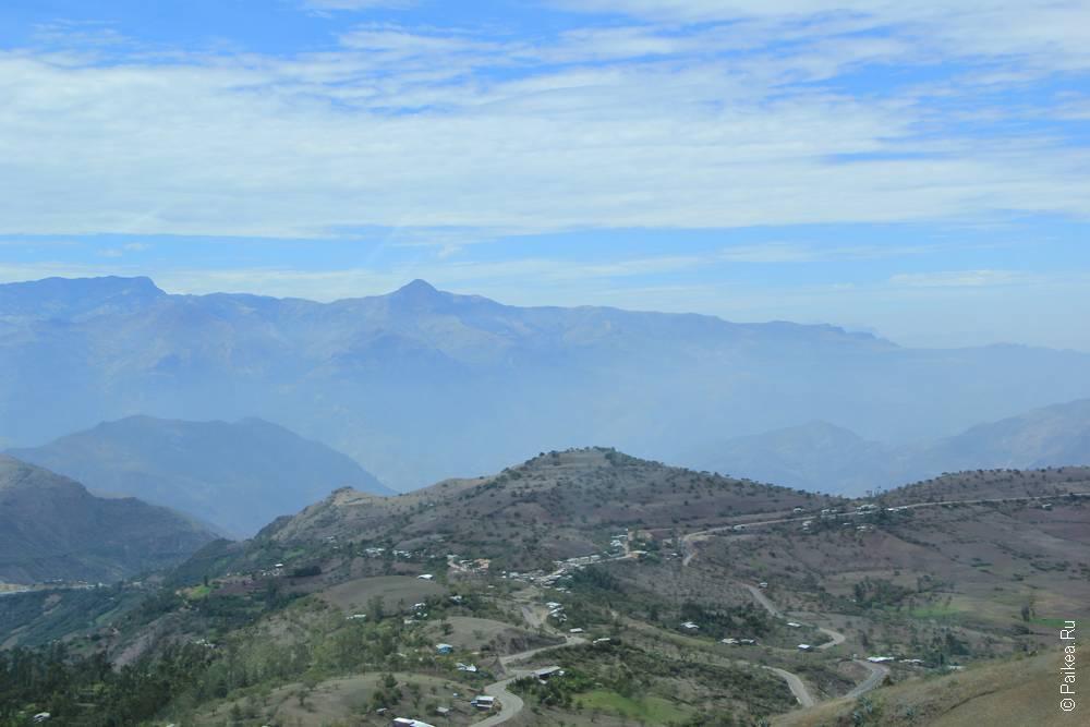 Вид на город Сан-Пабло