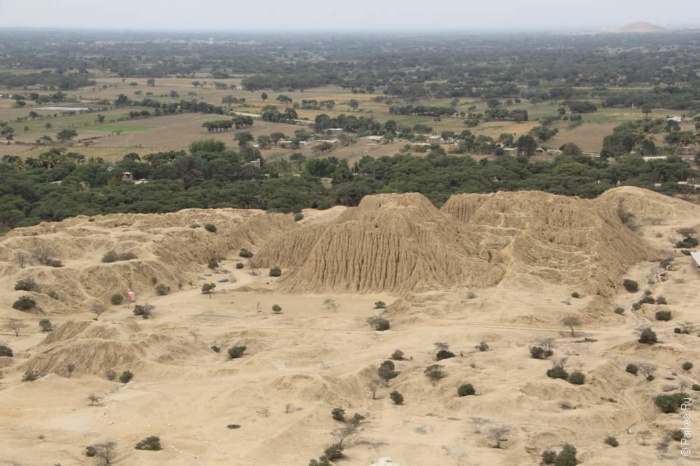 Пирамиды долины Ламбайеке, Перу (Lambayeque pyramids, Peru)