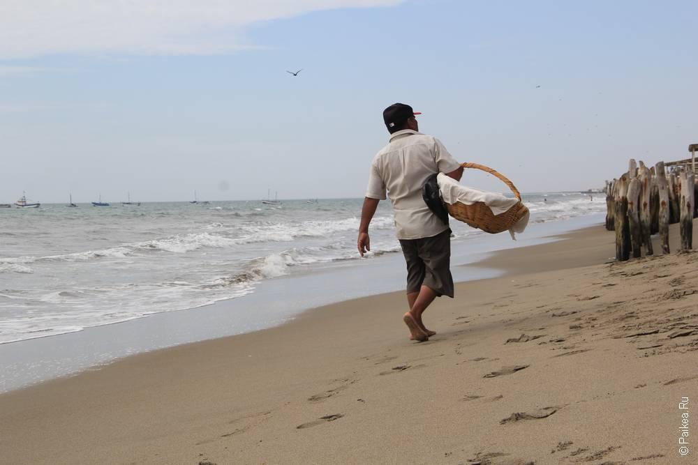 Достопримечательности Перу пляж Колан