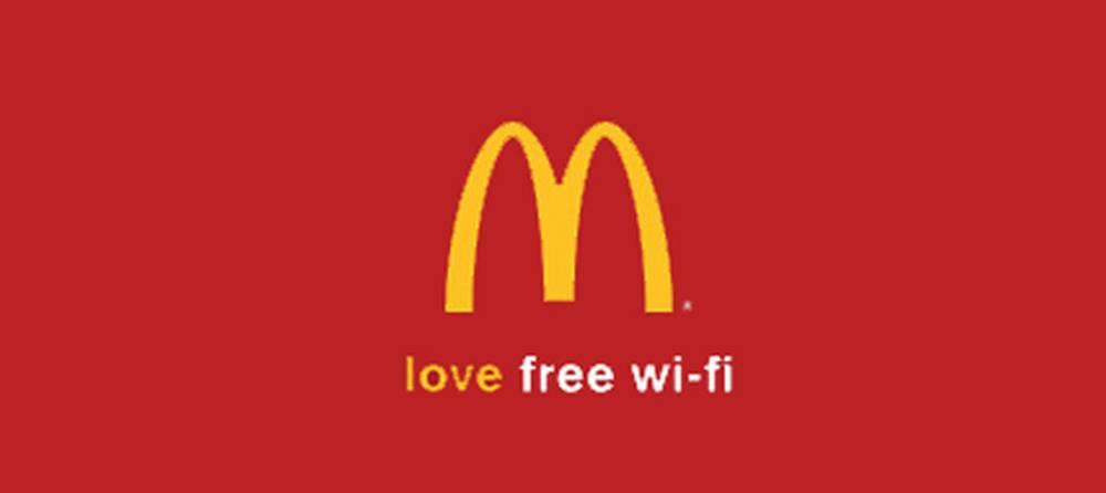 free wifi mcdonalds