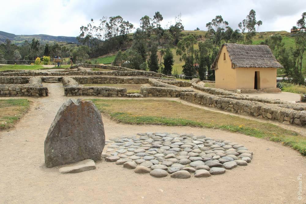 Камень каньяри, указывающий на солнцестояние