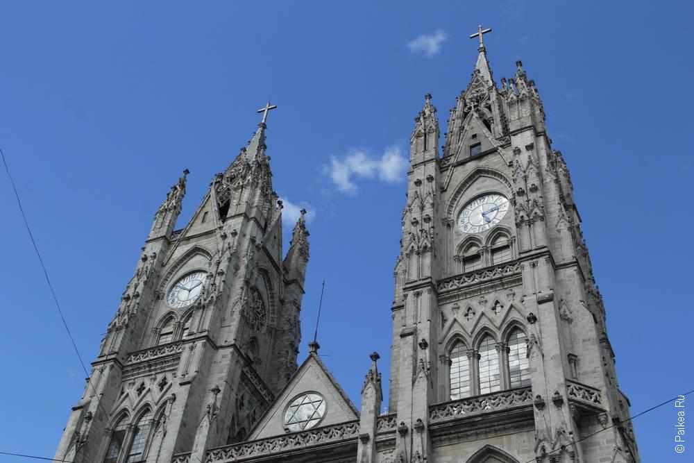 две башни с часами базилики