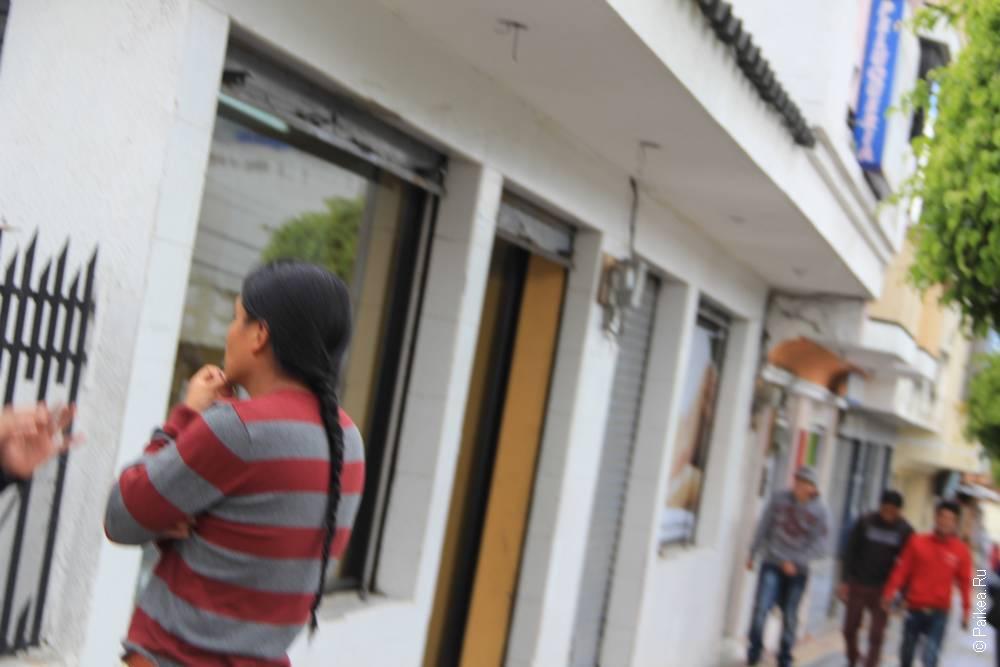 Мужчины в Эквадоре хранят свою силу в волосах. Скальп надо беречь!