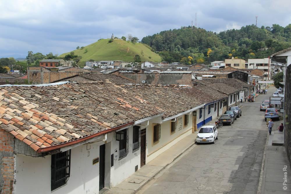 Вид на Эль Морро дель Тулкан