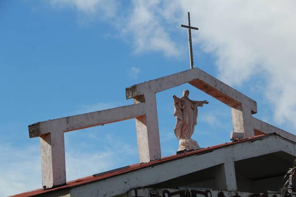 Церковь в городе Ханга Роа