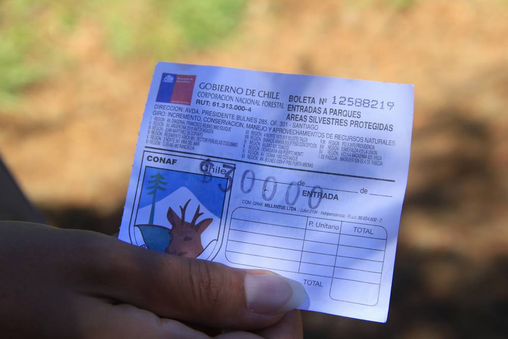 Билет в нацпарк